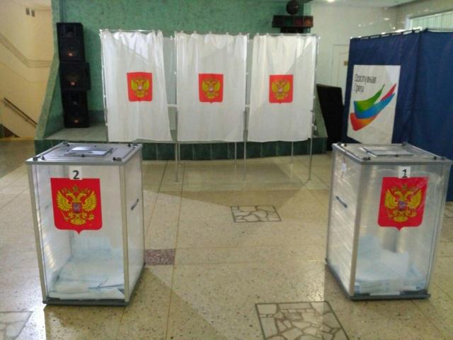 Избирательный участок в Перми