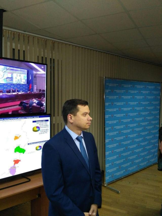 Председатель Избирательной комиссии Пермского края Игорь Вагин
