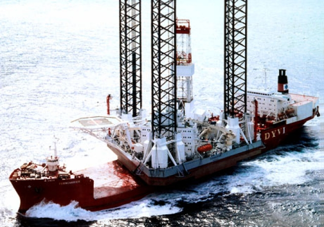 Нефтяная буровая платформа «Кольская»