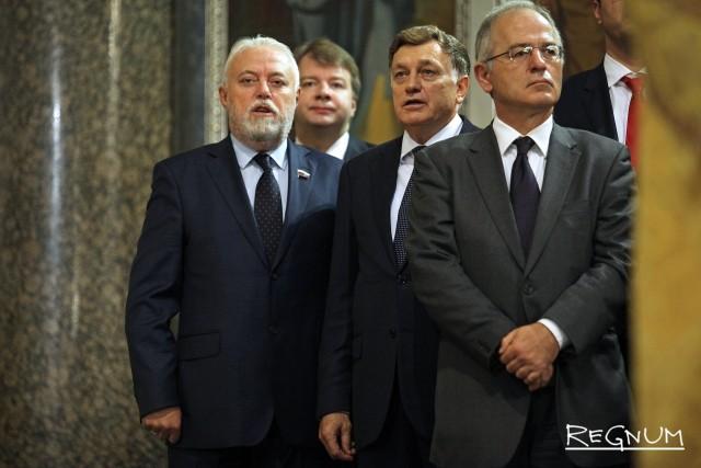 Игорь Дивинский, Александр Тетердинко и Вячеслав Макаров (слева направо)