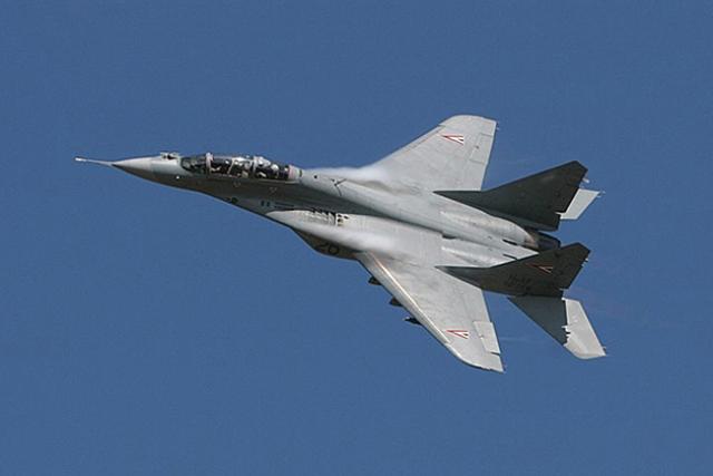 Сербия рассчитывает до конца года получить шесть российских МиГ-29