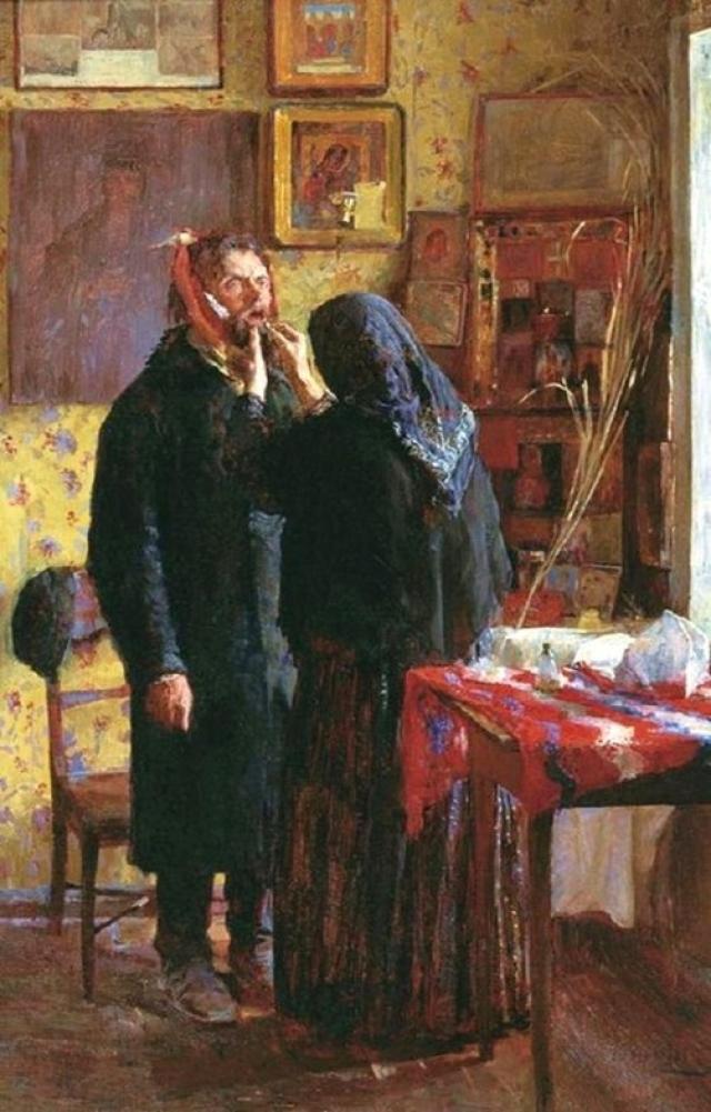 Василий Мешков. Зубоврачевание. 1891