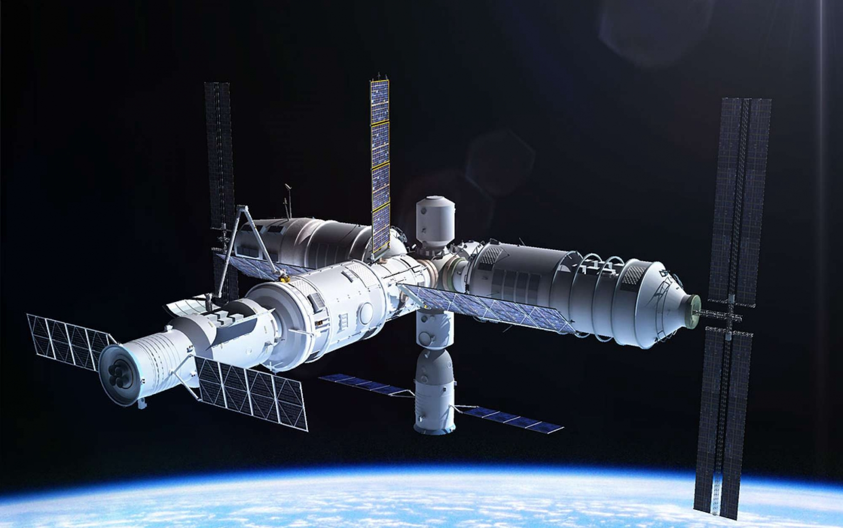 china space station - 1140×741