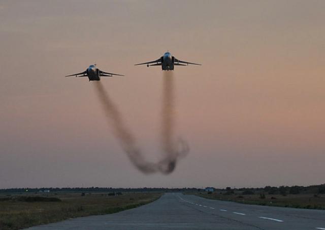 Бомбардировщики Су-24М2