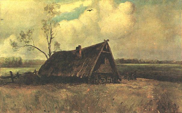 Алексей Саврасов. Изба совета в Филях. 1884