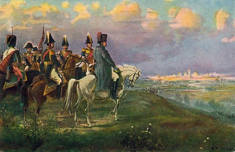 И. Львов. Наполеон на Воробьёвых горах