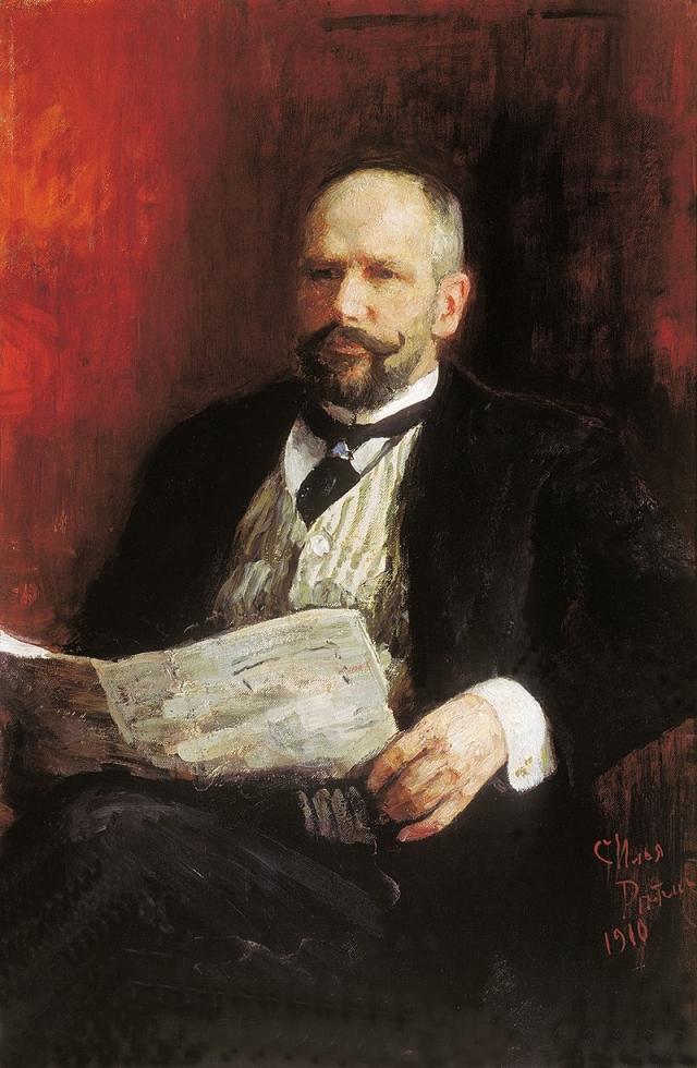 Илья Репин. Портрет Петра Столыпина. 1910