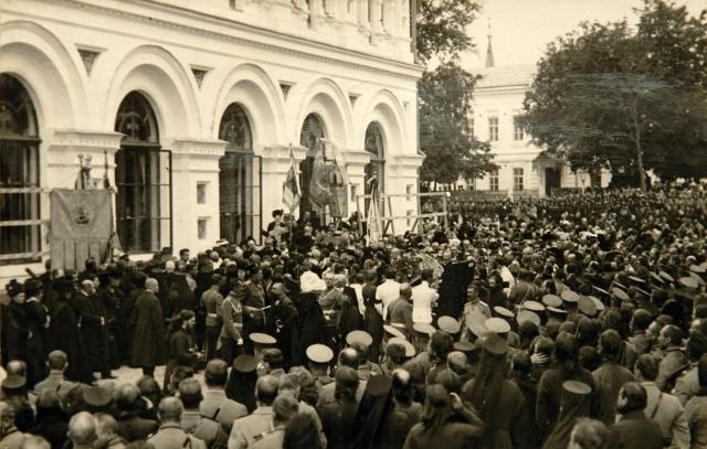 Погребение Столыпина в Киево-Печерской лавре