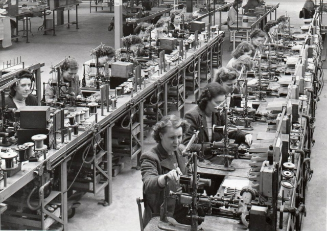 Siemens Factory Hartlepool. 1949
