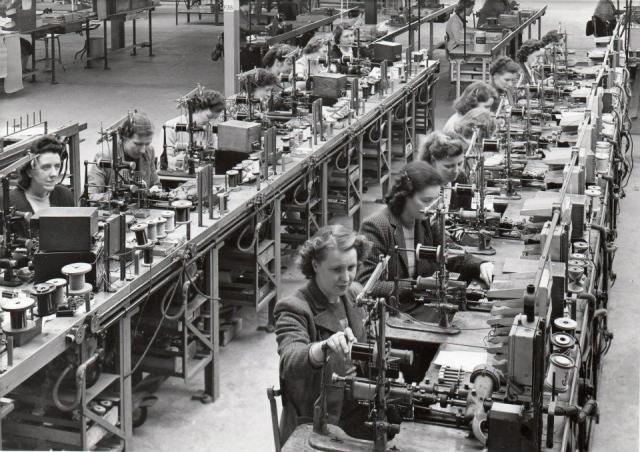 Siemens Factory Hartlepool. 1949