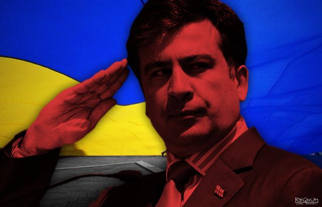 Саакашвили покажет чиновникам и силовикам слабость Порошенко