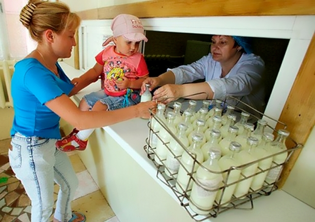 Южный Урал: молочные кухни — под нож