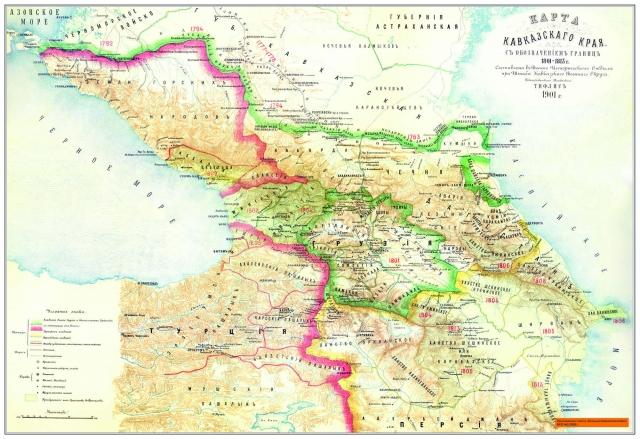 Где будет проходить «линия Путина» в Закавказье?