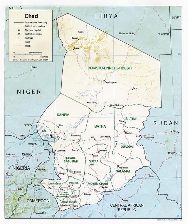 Amnesty International: У Чада большие проблемы с правами человека