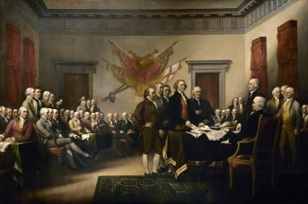 Джон Трумбулл. Декларация независимости. 1818