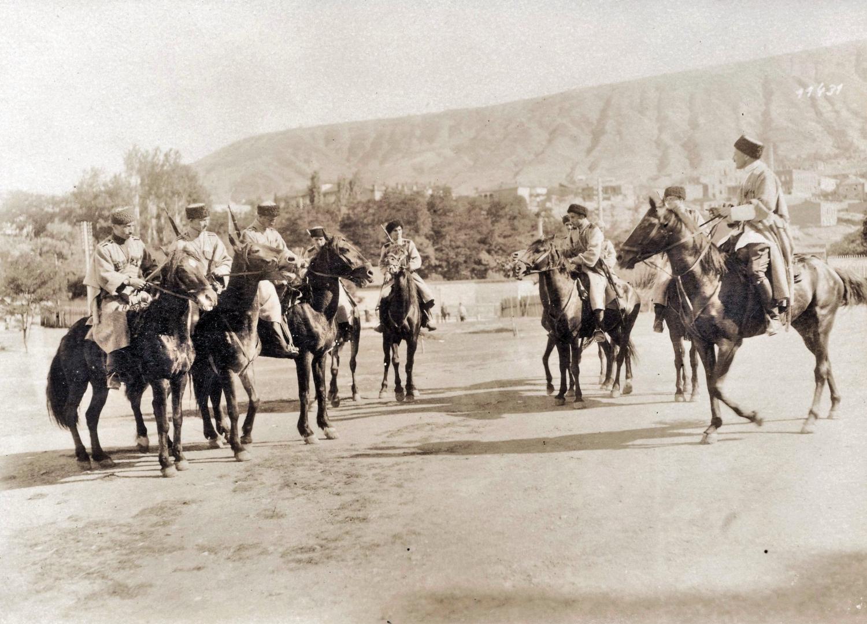 Грузинская кавалерия в 1918 году