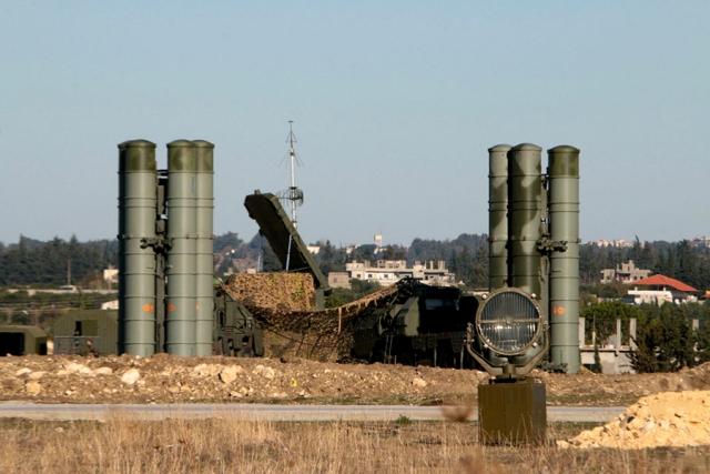 Обеспечение безопасности группировки ВКС РФ в Сирии