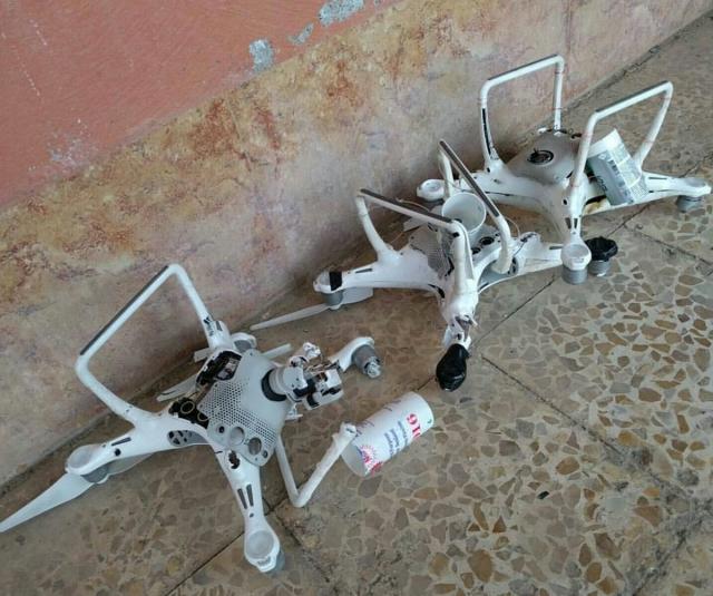 Популярные у террористов модели дронов