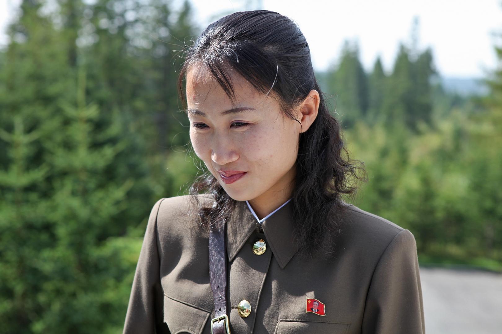 фото северных корейцев трех цветовых