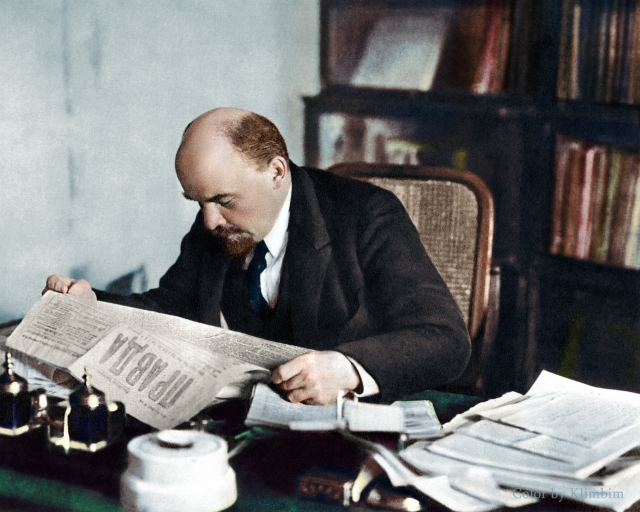 Ленин, октябрь 1918