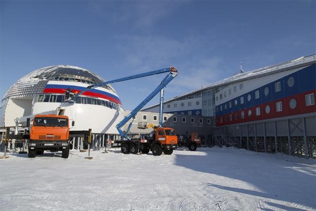 Российская Арктика укрепляется