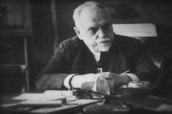 Николай Александрович Семашко с колегами (фрагмент)