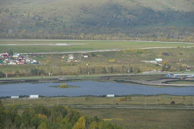 Сразу две солнечные электростанции открыли в Горном Алтае