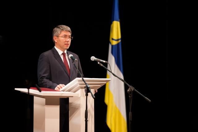 Алексей Цыденов вступил в должность главы Республики Бурятия