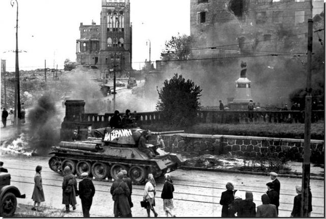 Кёнигсберг. Май 1945 года