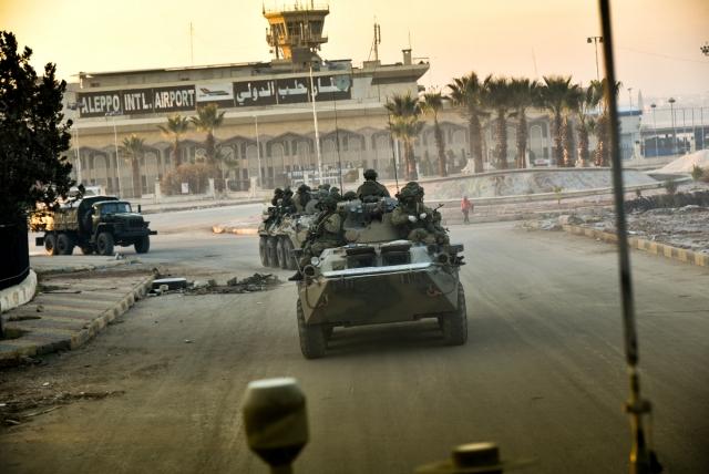 Армяне постепенно возвращаются в Алеппо