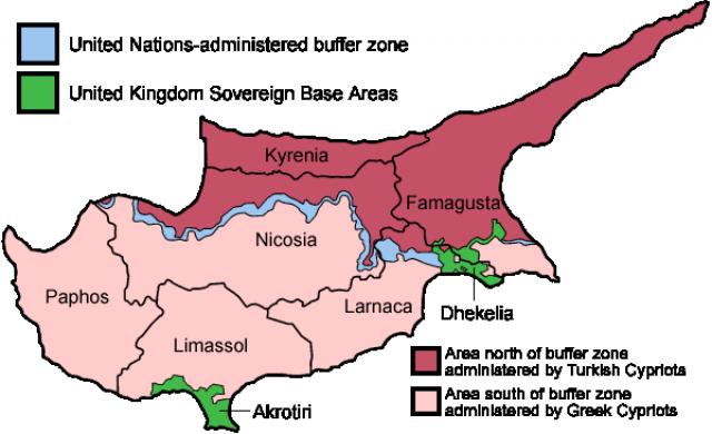 Кипрская проблема: союз Кипра, Греции и Египта вновь против Турции?