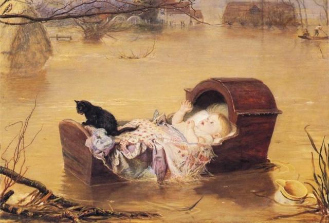 Джон Эверетт Милле. Наводнение. 1870