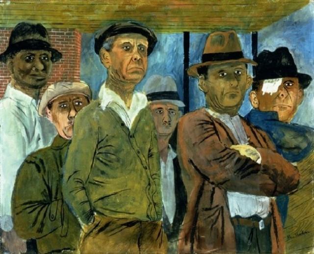 «Безработные», Бен Шан, 1938 г