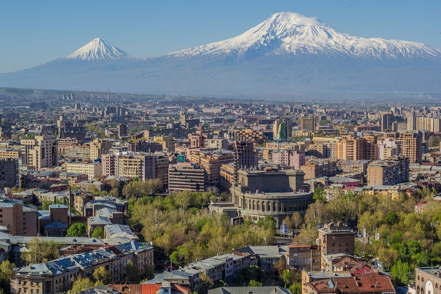Ереван у подножья Арарата