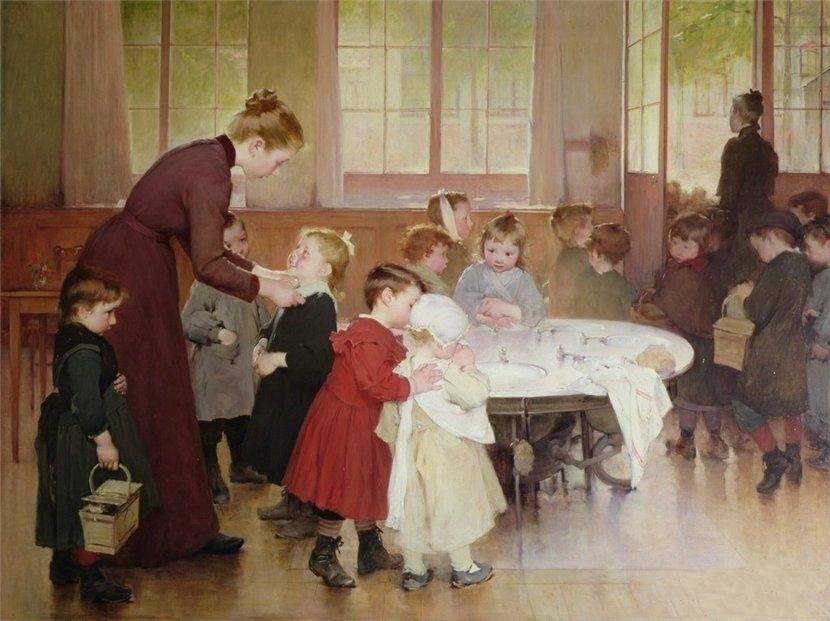 Генри Жюль Жан Жоффруа. Детский сад.  1898