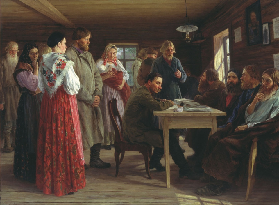 Михаил Зощенко. Волостной суд. 1888