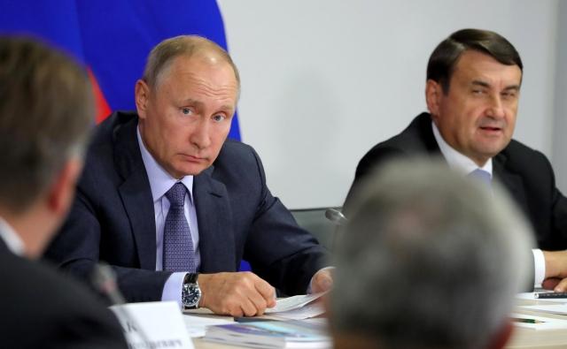 Заседание президиума Государственного совета. Ульяновск, 22 сентября 2017 года