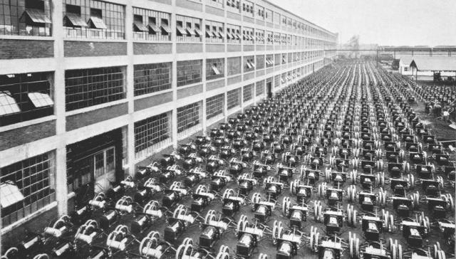 Завод Форд Highland Park. Мичиган, США