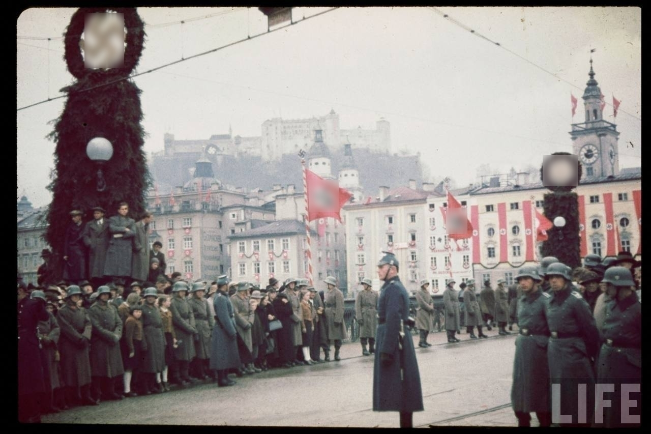 В этот день Германия воссоединила Австрию