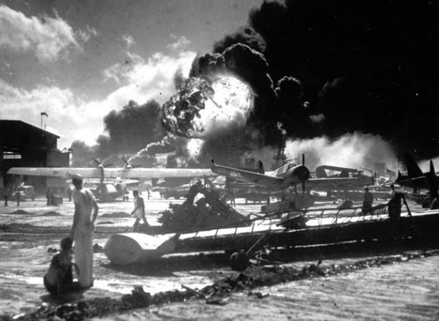 Нападение на Перл-Харбор. 1941