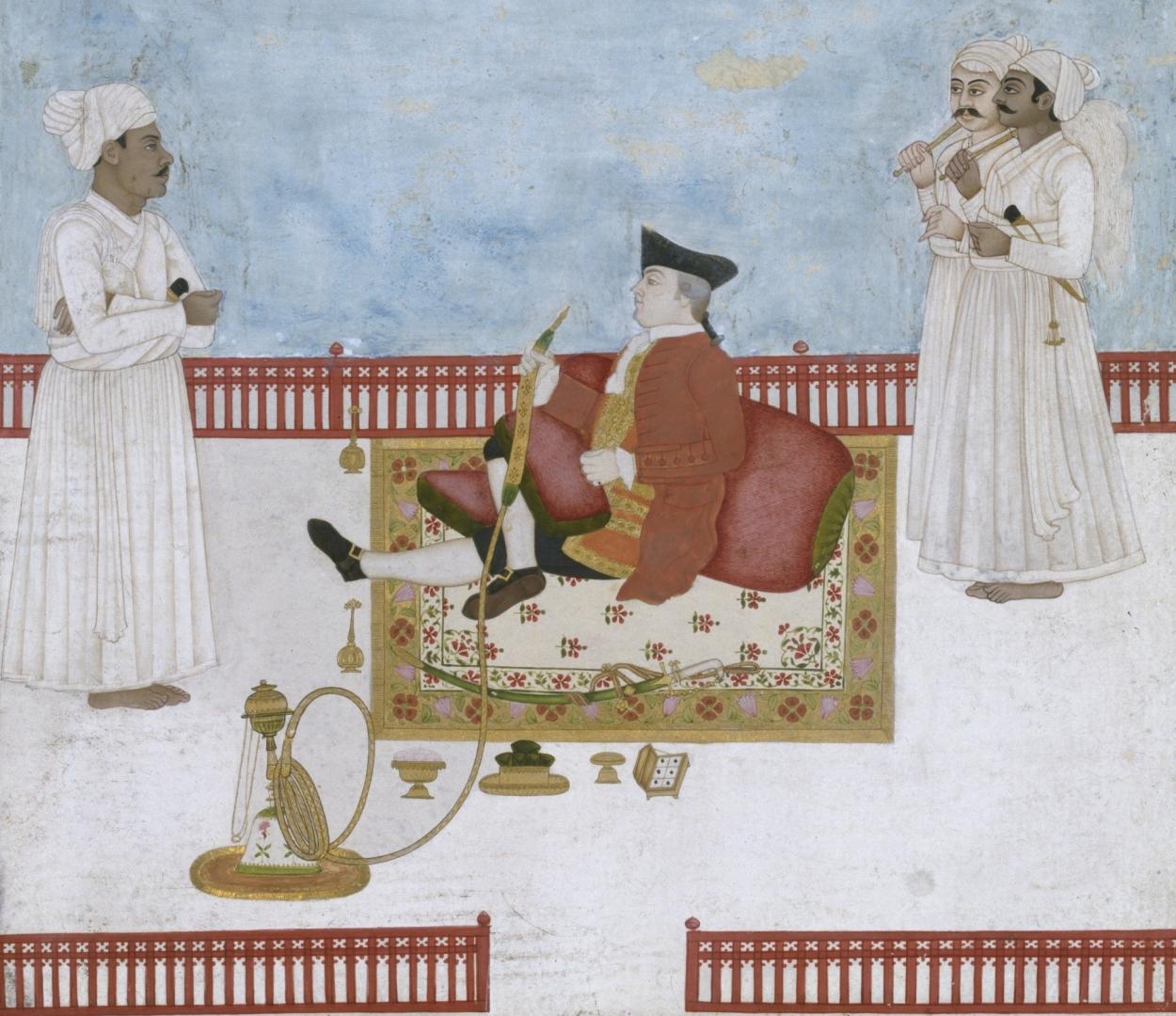 Чиновник Ост-Индской компании, 1760 год