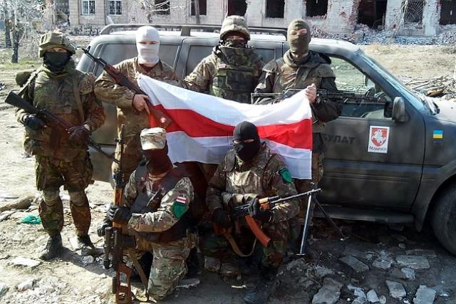 Белорусские националисты на Украине