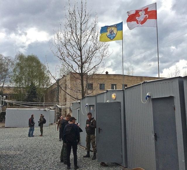 Белорусские и украинские националисты в АТО