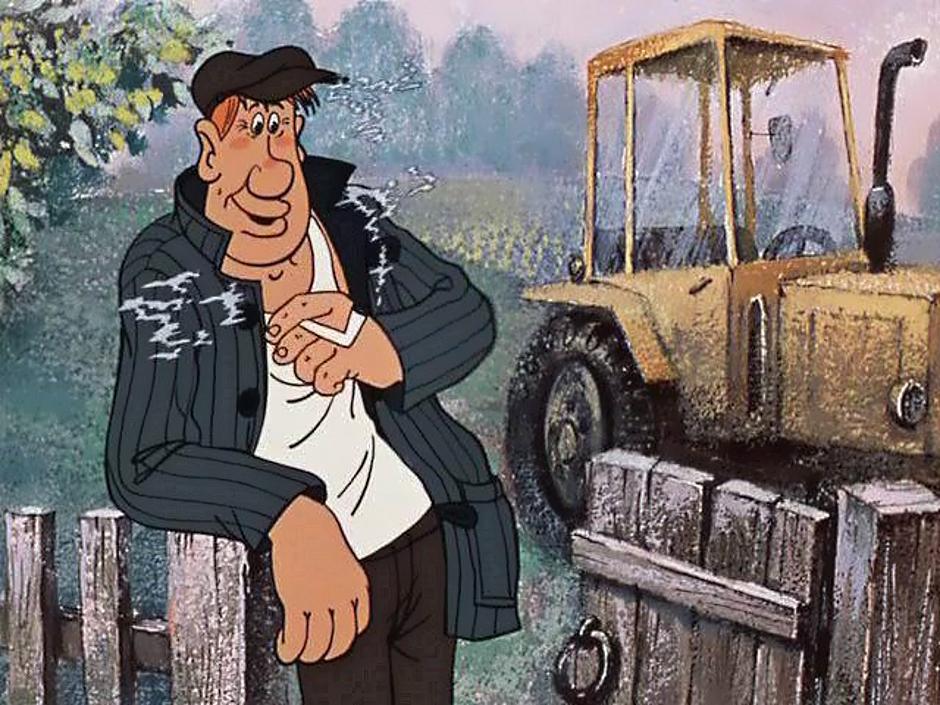 Прикольные картинки про трактористов