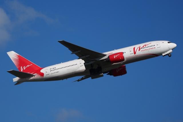 Boeing 777-200ER авиакомпании «ВИМ-авиа»