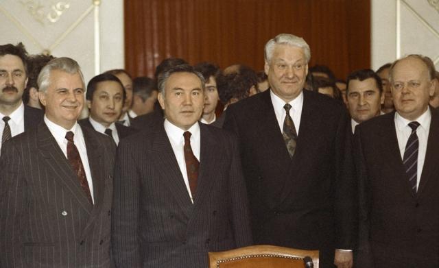 Беловежские соглашения. 1991