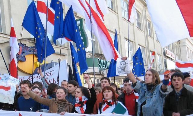«Улица» сторонников либерального курса Белоруссии