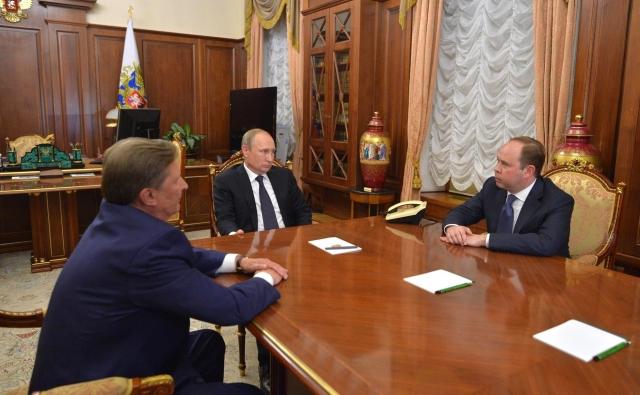 Владимир Путин, Сергей Иванов и Антон Вайно