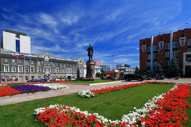 Площадь Столыпина. Саратов