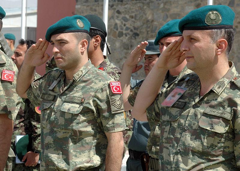 Турецкие солдаты в составе войск НАТО в Афганистане